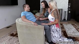Mom gives milk and hot caught masturbating A Mother compeer s daughter Arrangement - Lexi Lovell