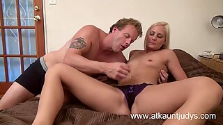 Hardcore sex with Elizabeth and Seth Dickens.