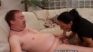 Goofy Bitch wit Big Tits Fucked and Gagged