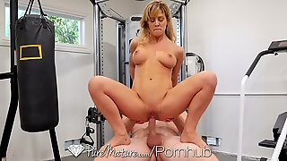 PUREMATURE Mature Cherie Deville Loves Being Fucked In Both Holes