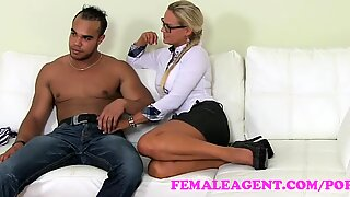 FemaleAgent. MILF agent never been humped so firm and so quick for so long