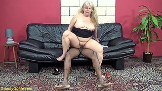 old chubby moms first interracial sex