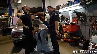 Cops ass fucking young teens and hot naked  police men movie