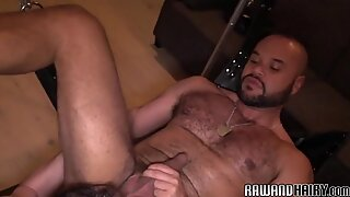 Cockhungry wolf plowed and dildo fucked