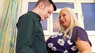 Agedlove Young Guy Banged Mature Chubby