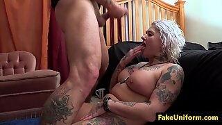 Alt english MILF assfucked by policeman