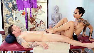 Asian masseuse eager to please